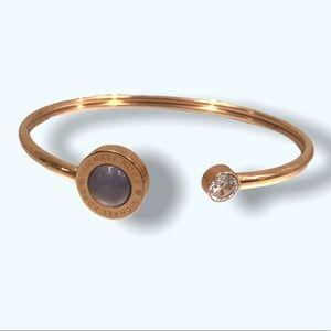 Authentic MICHAEL KORS Rose Gold Cuff Bracelet